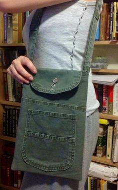 Dungaree purse by iamlilyst | Project | Sewing / Bags & Purses | Kollabora