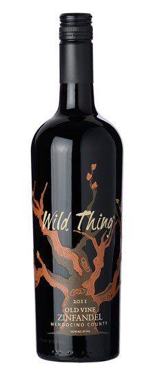 Wild Thing Old Vine Zinfandel 2011   'Otras 101 etiquetas de botellas de vino... (2ª parte)' by @Recetum