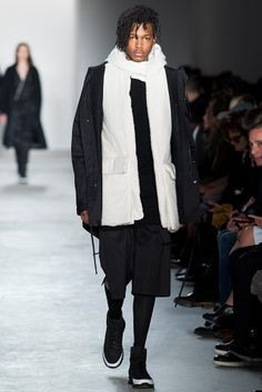 Public School - Fall 2015 Ready-to-Wear - Look 33 of 44 Love Fashion, Runway Fashion, Winter Fashion, Fashion Show, Mens Fashion, Fashion Design, Fashion 2015, Fashion Menswear, Style Fashion