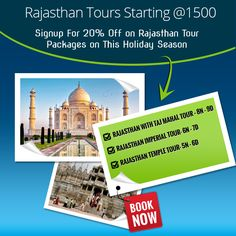 Rajasthan is generally known as dry land of India. It is the place where major tourist attraction is.  Rajasthan is the place where you will hear lots of stories and tales of Bravery, royalty and nobility.  #Rajasthan_Tours Starting @1500  To know more visit @ http://atulyarajasthan.com and also call at : +91 9414255973.