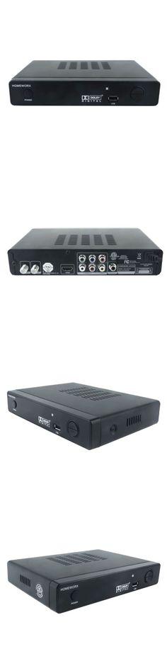 Other TV Video and Audio Accs Box Tv Homeworx Hd Dvr Media Player Recorder Atsc  sc 1 st  Pinterest & Other TV Video and Audio Accs: Black Homeworx Digital Converter ... Aboutintivar.Com