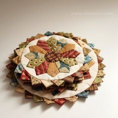 pinterest quilted candle mats - Google Search