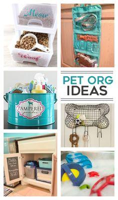 13 Smart Pet Organization Ideas - Kids Activities #dogstuffpetcare