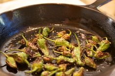 Roasted Padron Peppers Recipe