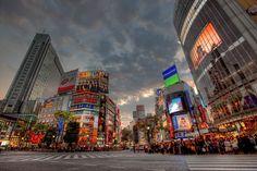 Tokyo - El cruce de Shibuya