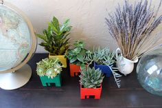 DIY FLOPPY DISK PLANTERS | Just Imagine – Daily Dose of Creativity