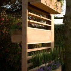 Ecocube: Jardín de estilo  de ecospace españa