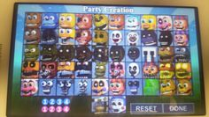 Fnaf world new characters guess appearance by candy the cat.