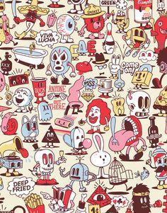 CartoonPattern LaNewEra ® on Behance