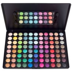 Ultra Shimmer Palette ($12) ❤ liked on Polyvore featuring beauty products, makeup, eye makeup, eyeshadow, beauty and palette eyeshadow