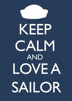 I couldn't be prouder of my amazing sailor! I love him to death. Can't wait to spend the rest of my life with him.