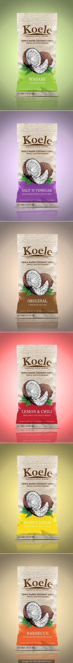 Koele Coconut Chips by Ujee Khan