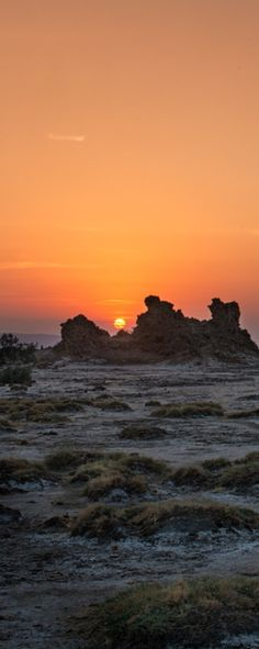 Desolate Landscape of Lac Abbe by Andrew Rosser / 500px (Djibouti)