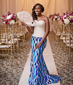 African designed dresses Kente Traditional Attires - fashionist now African Attire, African Wear, African Dress, African Style, African Outfits, African Clothes, African Lace, African Design, African Women