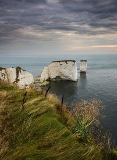 Old Harry Rocks, Dorset, England by Damian_Ward