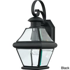 Rutledge 1-light Outdoor Wall Sconce - Overstock™ Shopping - Big Discounts on Quoizel Wall Lighting $89.99