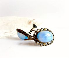 Dreamy Blue Clip on Earrings Gorgeous Womens by RavenintheDogwood