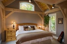 Timber Frame Homes - Post and Beam Homes - Ferraro Builders Inc.