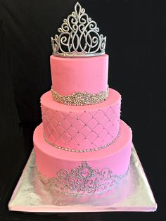 Sweet 16 Princess Cakes   Photo of Maria's Dream Cakes - Fremont, CA, United States. For a ... 16th Birthday Cake For Girls, 14th Birthday Cakes, Birthday Cake Roses, Sweet 16 Birthday Cake, Beautiful Birthday Cakes, Beautiful Cakes, Girl Birthday, Bolo Fack, Queen Cakes