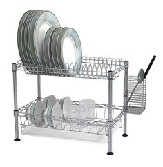 Opentip.com: BUDDY PRODUCTS WDR101812 Two-Tier Wire Dish Rack