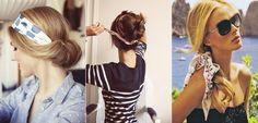 Ideas de peinados con pañuelos también para otoño - http://www.entrepeinados.com/ideas-de-peinados-con-panuelos-tambien-para-otono.html