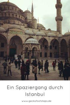 Auf einem Spaziergang durch Istanbul gibt es viel zu entdecken. Begleite mich…