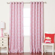 Shop for Aurora Home Moroccan Tile Room Darkening Grommet Top Curtain Panel Pair - 52 x Get free delivery On EVERYTHING* Overstock - Your Online Home Decor Outlet Store! Printed Curtains, Grommet Curtains, Panel Curtains, Bedroom Windows, Living Room Windows, Moroccan Print, Insulated Curtains, Curtain Styles, Room Tiles