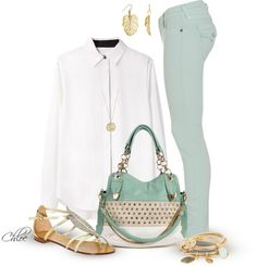 """""""Fresh Mint"""" by chloe-813 on Polyvore"""
