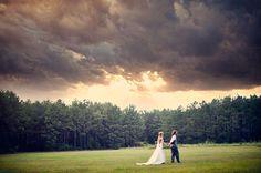 DIY Bohemian Rainbow Wedding: Jenn + Matt