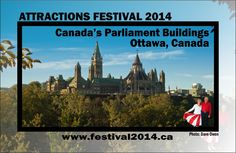 Attractions Festival 2014 - Canada's Parliament Buildings, Ottawa, Canada (www.festival2014.ca) Ottawa Canada, Attraction, Buildings, Movies, Movie Posters, Film Poster, Films, Popcorn Posters, Film Posters