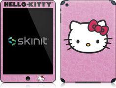 Skinit Hello Kitty Face Pink Vinyl Skin for Apple iPad Mini