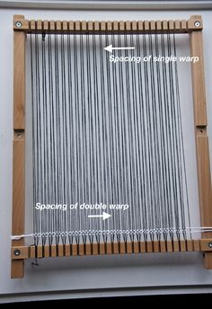 How To Double Warp a Loom | The Weaving Loom