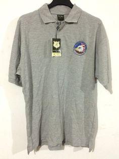 Boss Club By Yucateca Men's Sports Gray Short Sleeve Polo Shirt Golf Rugby Shirt #Yucateca #PoloRugby