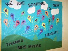 Teacher appreciation door ideas. this one is also for Sarah Mertz