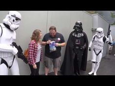 Darth Vader Helps Wife Tell Husband She's Pregnant At Disney World - YouTube | So...I cried! I'm still crying!