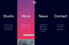 Web Design Trends That Will Rule 2015 Impossible Bureau Web Design Trends, Design Web, Slide Design, Website Layout, Web Layout, Layout Design, Navigation Design, User Interface Design, Conception D'interface