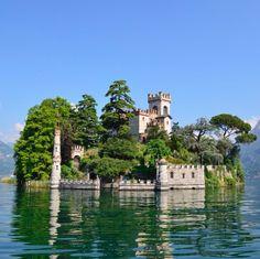 Loreto Island, Lake Iseo, Brescia, Lombardy (Italy) - Isola di Loreto Lago d'Iseo