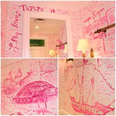 Lilly Pulitzer Tampa Toile