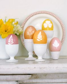 How-To Botanical Easter Eggs