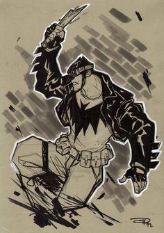Batman Rockabilly by DenisM79.deviantart.com on @deviantART