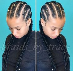 cornrows straightbacks feed in braids