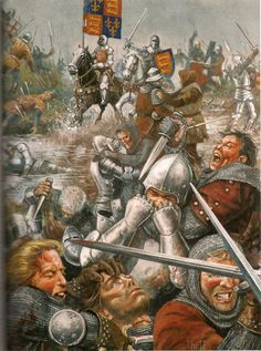 Bloody slaughter at Agincourt