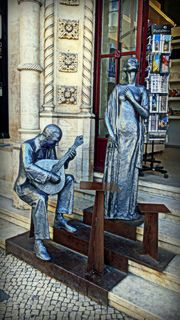 The Fado Singer, Portugal Monuments, Europe, Tours, Culture, Statue, History, Country, Street, City
