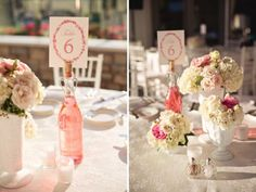 Table number Wedding ideas. Centertable decoration.