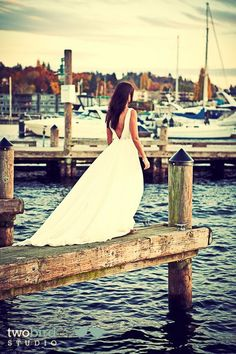 backless and beautiful and love the dock setting