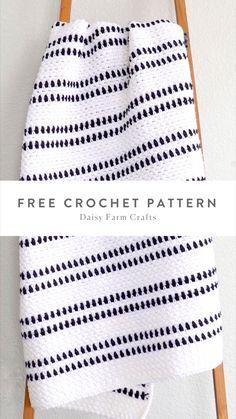 Crochet Towel, Cute Crochet, Crochet Crafts, Crochet Projects, Crotchet Patterns, Afghan Crochet Patterns, Crochet Stitches, Baby Blanket Crochet, Crochet Baby