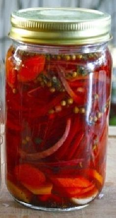 The easiest and by far the BEST recipe for Pickled Habanero's