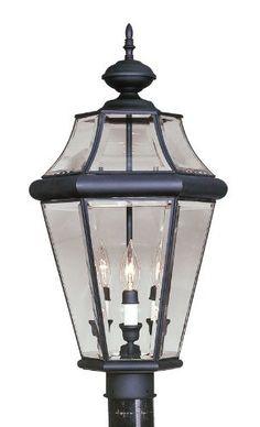 3 Light Post Mount Fixture By Livex Lighting. $239.90. A Beautiful High  Quality Livex
