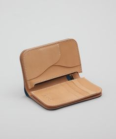 Studio D'artisan Mid Length Wallet Blue Superdenim | Nuji-SR