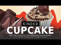 CRASH TEST : faire des cupcakes Kinder Bueno - YouTube